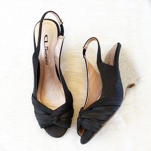 CL by Laundry black heels. Sz 7.5,
